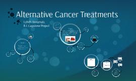 Alternative Cancer Treatments
