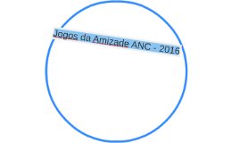 Jogos da Amizade ANC - 2016