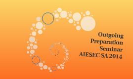 Outgoing Preparation Seminar