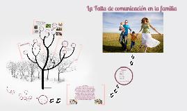 Copy of La Falta de comunicación en la familia