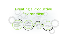 Creating a Productive Environement