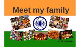 Meet my family-Priya Gandhi