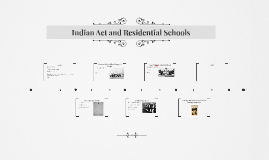 Indian Act and Residential Schools