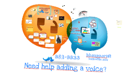 Adding voice to your class