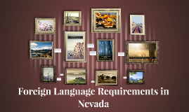 Foreign Language Requirements in Nevada