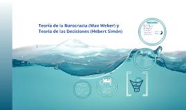 Teoría de la Burocracia (Max Weber) y