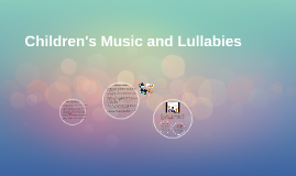 Children's Music and Lullabies