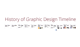 Copy of History of Graphic Design