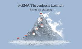 MENA Thrombosis Launch