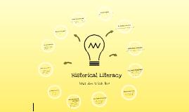 HSIE - Historical Literacy