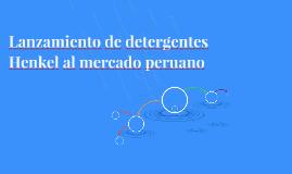 Lanzamiento de detergentes Henkel al mercado peruano