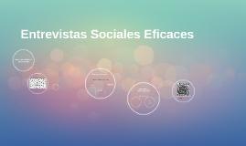 Entrevistas Sociales Eficaces