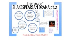 Shakespearean Drama #2