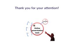 Online presentations tools