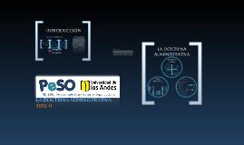 La doctrina administrativa PeSO 2013- 2