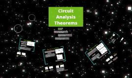 Circuit Analysis Theorems
