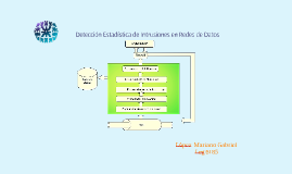 Detección Estadística de Intrusiones en Redes de Datos