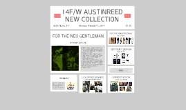14F/W AUSTINEED NEW COLLECTION