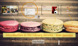 Introduction to the Library Service - Psychology