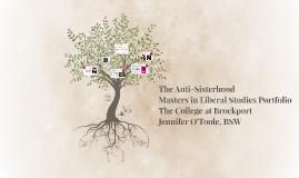 The Anti-Sisterhood