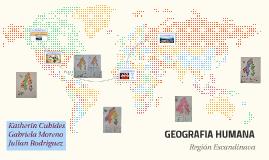 GEOGRAFIA HUMANA