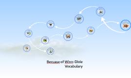 Because of Winn-Dixie Vocabulary