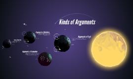 Kinds of Arguments