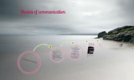 Models of communiction