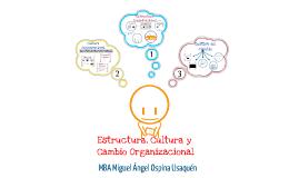 Copy of Estructura, Cultura y Cambio Organizacional