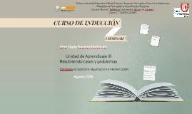 Copy of Curso de Inducción 2015. Modulo III. Estrategias de selección, organización y memorización