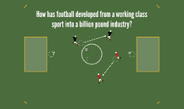 How has football developed from a working class sport into a
