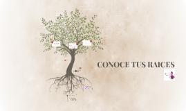 CONOCE TUS RAICES