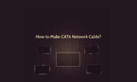 How to Make CAT6 Network Cable?
