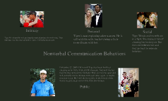 Non Verbal Communication Behaviors