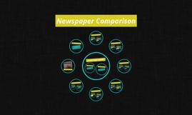 Newspaper Comparison