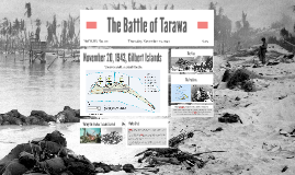 The Battle of Tarawa