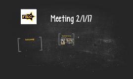 FSLC Meeting 9/23/2015