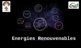 Copy of Energies Renouvenables