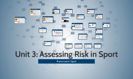 Unit 3: Assessing Risk in Sport