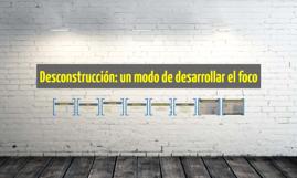 Desconstrucción