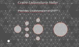 Medidas Cautelares en el CNPP