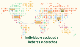 Copy of Individuo y sociedad :
