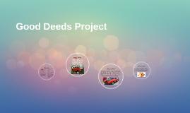 Good Deeds Project