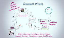 Component 1 - Devising