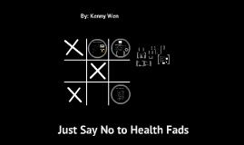 Health Fads