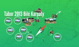Tábor 2013 Bílé Karpaty