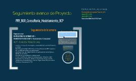 Seguimiento de Proyecto 2709