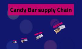 Candy Bar supply Chain