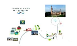 """""""PLANTAS DE CELULOSA EN EL RÍO URUGUAY"""""""