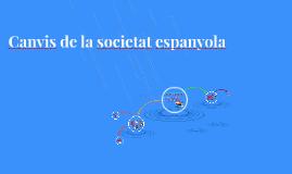 Canvis de la societat espanyola